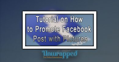 Tutorial on how to promote Facebook Post with Pictures