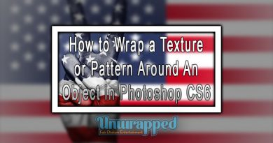 How to Wrap a Texture or Pattern Around An Object in Photoshop CS6