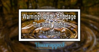 Warning! Water Shortage: The Next Global Challenge