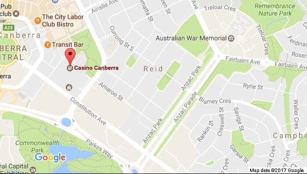 Things to do in Canberra: Casino Canberra