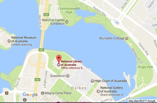 Things to do in Canberra: National Library of Australia