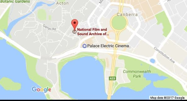 Things to do in Canberra: National Film and Sound Archive
