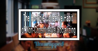 The Horrible Collective Habit of Non-Constructive Socializing
