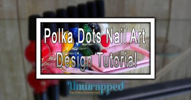 Polka Dots Nail Art Design Tutorial