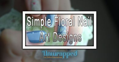 Simple Floral Nail Art Designs