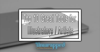 Top 10 Great Tools for Illustrators / Artists