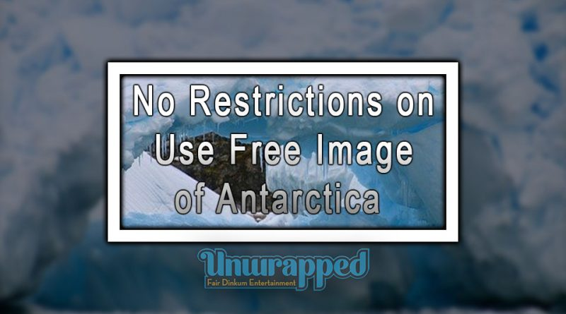 No Restrictions on Use Free Image of Antarctica