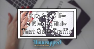 How to Write a Blog Article That Gets Traffic