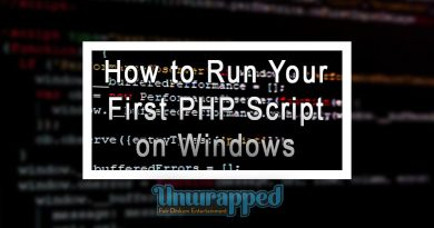 How to Run Your First PHP Script on Windows