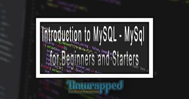 Introduction to MySQL - MySql for Beginners and Starters