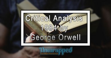 Critical Analysis 1984 by George Orwell