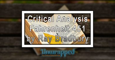 Critical Analysis Fahrenheit 451 by Ray Bradbury