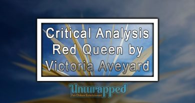 Critical Analysis Red Queen by Victoria Aveyard