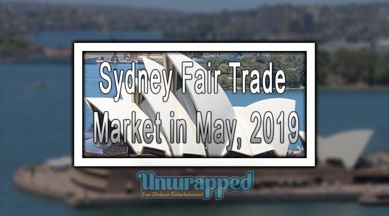 Sydney Fair Trade Market in May, 2019