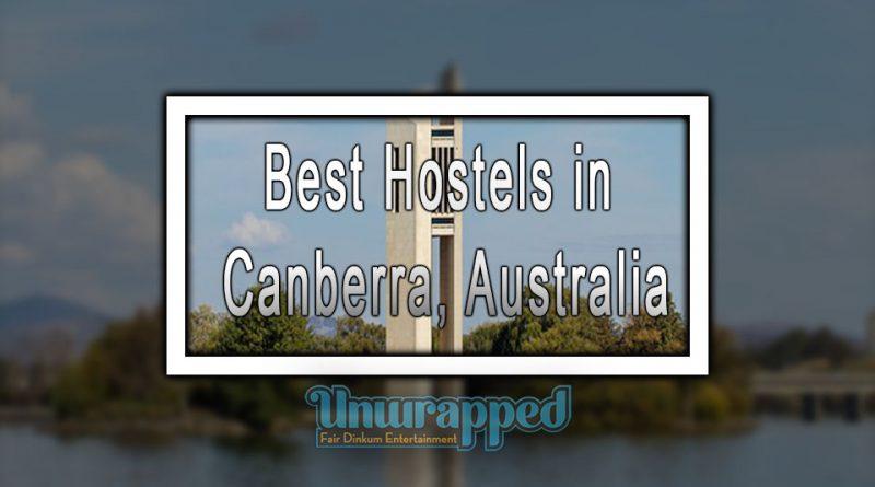 Best Hostels in Canberra, Australia