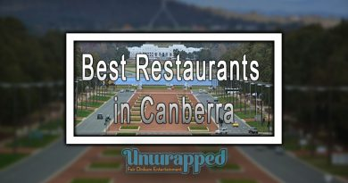 Best Restaurants in Canberra