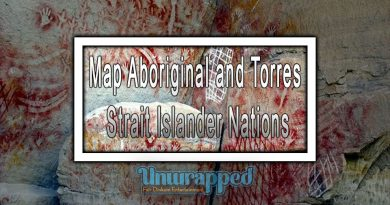 Map Aboriginal and Torres Strait Islander Nations
