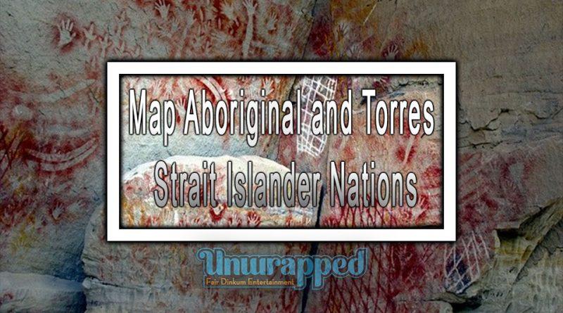 Map Aboriginal and Torres Strait Islander Nations