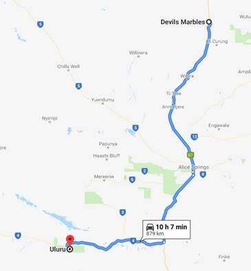 Devils Marbles (Karlu Karlu) - Uluru (Ayers Rock) Australia