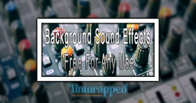 Background Sound Effects Free For Any Use