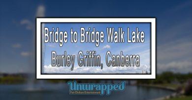 Bridge to Bridge Walk Lake Burley Griffin, Canberra