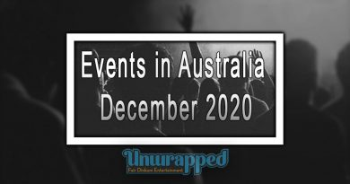 Events in Australia December 2020