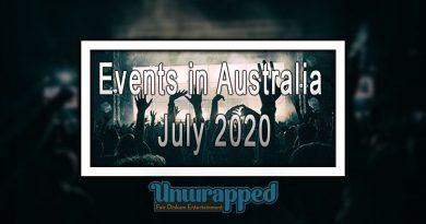 Events in Australia July 2020