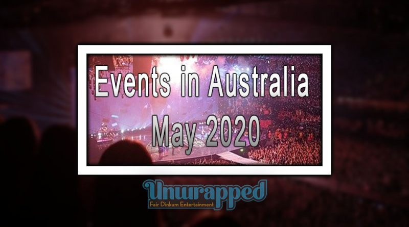 Events in Australia Mау 2020
