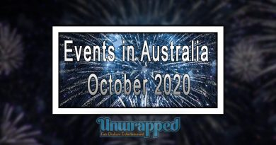 Events in Australia October 2020