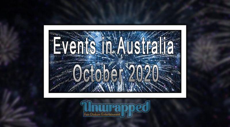 Events in Australia October 2020