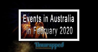 Events in Australia in February 2020
