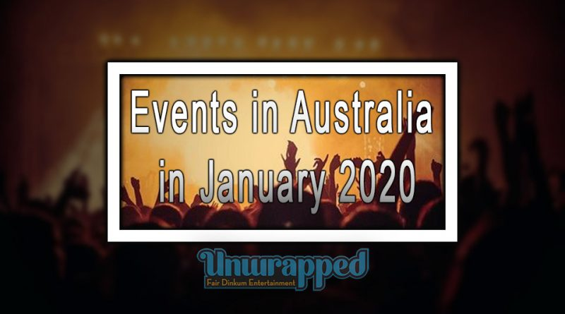 Events in Australia in January 2020