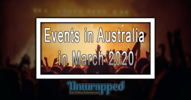 Events in Australia in March 2020