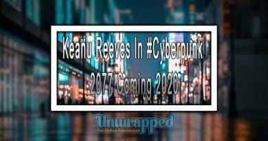Keanu Reeves In #Cyberpunk 2077 Coming 2020