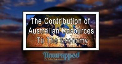 Thе Contribution оf Australian Resources tо thе Economy