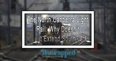 The North Canberra Light Rail Why Doesn't it Extend South