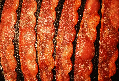 Bacon Sizzling In a Pan Free Sound Effect