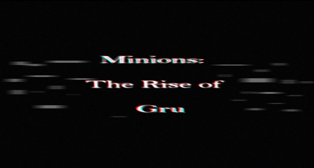 Minions: The Rise of Gru Blockbuster Movies 2020
