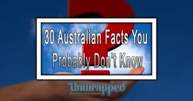 30 Australian Facts You Probably Don't Know