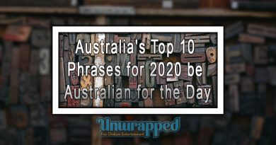 Australia's Top 10 Phrases for 2020 be Australian for the Day