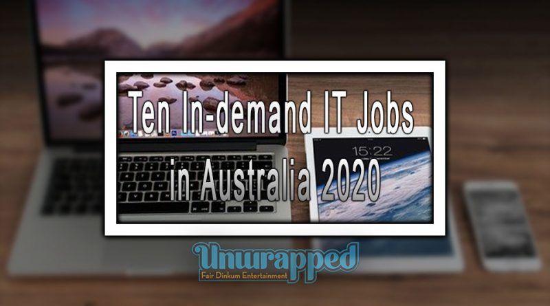 Ten In-demand IT Jobs in Australia 2020