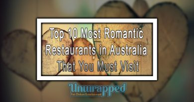 Top 10 Most Romantic Restaurants in Australia That You Must Visit