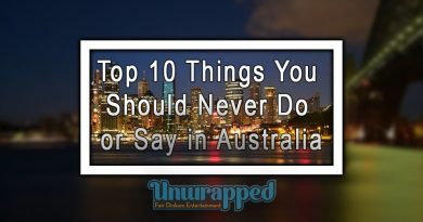 Top 10 Things You Should Never Do or Say in Australia