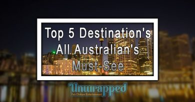 Top 5 Destination's All Australian's Must-See