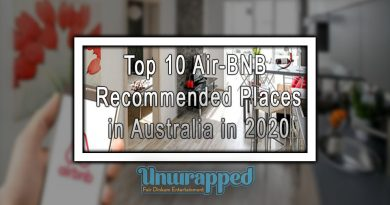 Top 10 Air-BNB Recommended Places in Australia in 2020