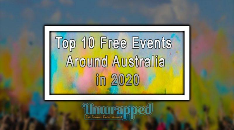 Top 10 Free Events Around Australia in 2020