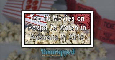 Top 10 Movies on Foxtel To Watch in Australia in 2019