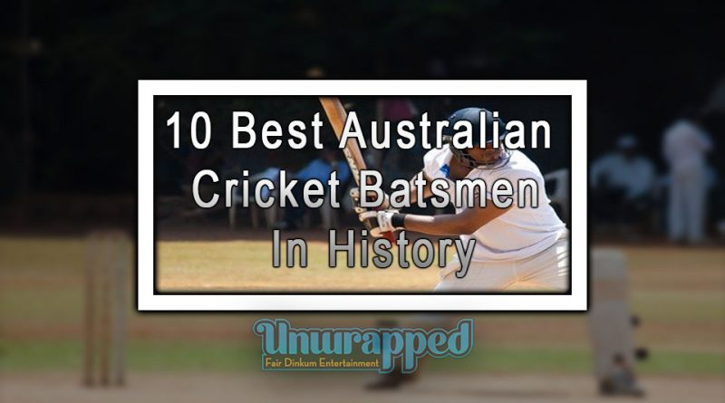 10 Best Australian Cricket Batsmen In History