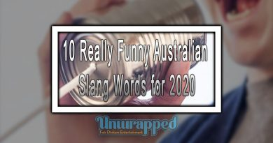10 Really Funny Australian Slang Words for 2020