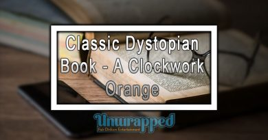 Classic Dystopian Book - A Clockwork Orange